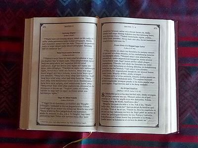 Kitab ma Bahasa Sinama (Bajau)