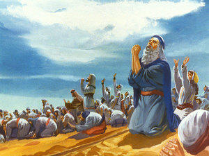 Musa and the Israelites sing to the Lord.